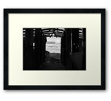 Old Piggery Framed Print