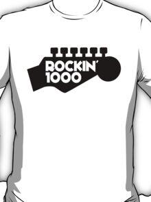Rockin 1000 White T-Shirt