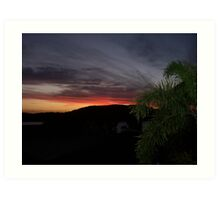 Sunset at Hamilton Island Art Print