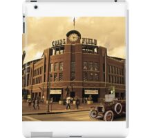 Old Time Coors Field Look iPad Case/Skin