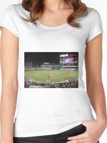 Washington Nationals Baseball Ballpark Women's Fitted Scoop T-Shirt
