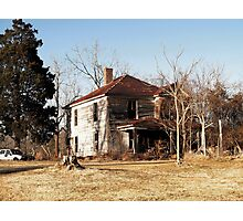 A Haunted House - Southside Virginia Photographic Print