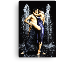The Fountain of Tango Canvas Print
