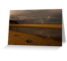 saltwater lagoon Greeting Card