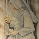 Nun at Vila de Este by Gary Shaw