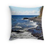 Lake Superior Throw Pillow