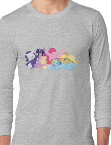Sleepy Ponies Long Sleeve T-Shirt