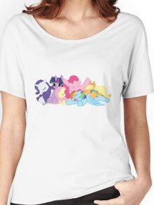 Sleepy Ponies Women's Relaxed Fit T-Shirt