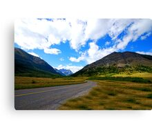 Waterton in Early Fall Canvas Print
