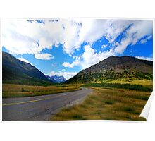 Waterton in Early Fall Poster