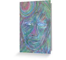Spirit Face One by Austen Brauker Greeting Card