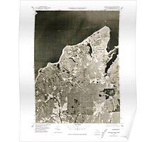 Massachusetts  USGS Historical Topo Map MA Vineyard Haven 351381 1977 25000 Poster