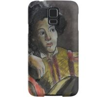 Postcard from Europe - a study of Caravaggio Samsung Galaxy Case/Skin