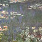 Monet's Water Lilies (Orangerie, Paris) by Christine Oakley