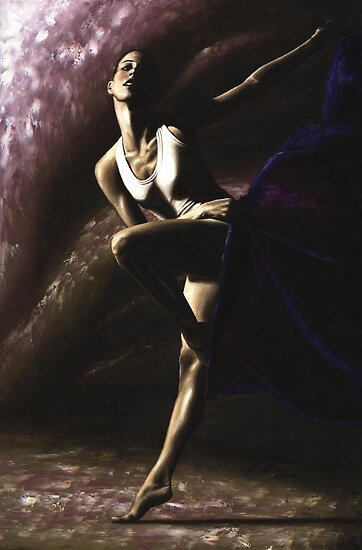 Contemporary Dancer by Richard Young