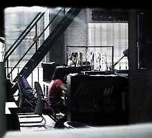 At work somewhere alone..... by vesa50