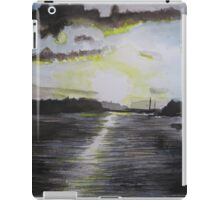 Sunset over the Bann River  in Northern Ireland iPad Case/Skin