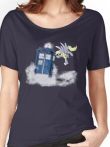Derpy Tardis Delivery Women's Relaxed Fit T-Shirt