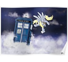 Derpy Tardis Delivery Poster