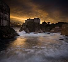 Sun set in Stone by Daniel Zrno
