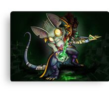 Gift in the Sewers Canvas Print