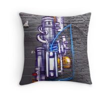 Artful Pipes Throw Pillow