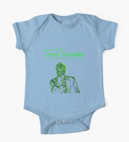 Linux Open Source Heroes - Linus Torvalds One Piece - Short Sleeve