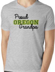 Proud Oregon U Grandpa Mens V-Neck T-Shirt