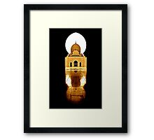 Keyhole Submission Framed Print