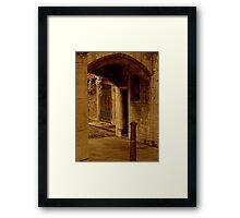 Beneath The City Streets Framed Print