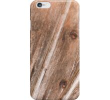 wooden background iPhone Case/Skin