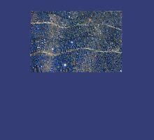 Diamonds on blue background Unisex T-Shirt