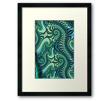 Seahorses Framed Print