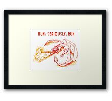 Harry Potter Hungarian Horntail Framed Print