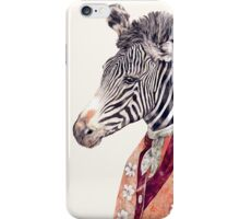 Zebra Cream iPhone Case/Skin