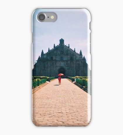 Paoay Chuch by iPhoneographer Matteo Genota iPhone Case/Skin