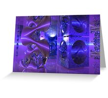 Mirror Reflections Greeting Card