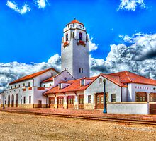 Boise Train Depot by Bob Vaughan