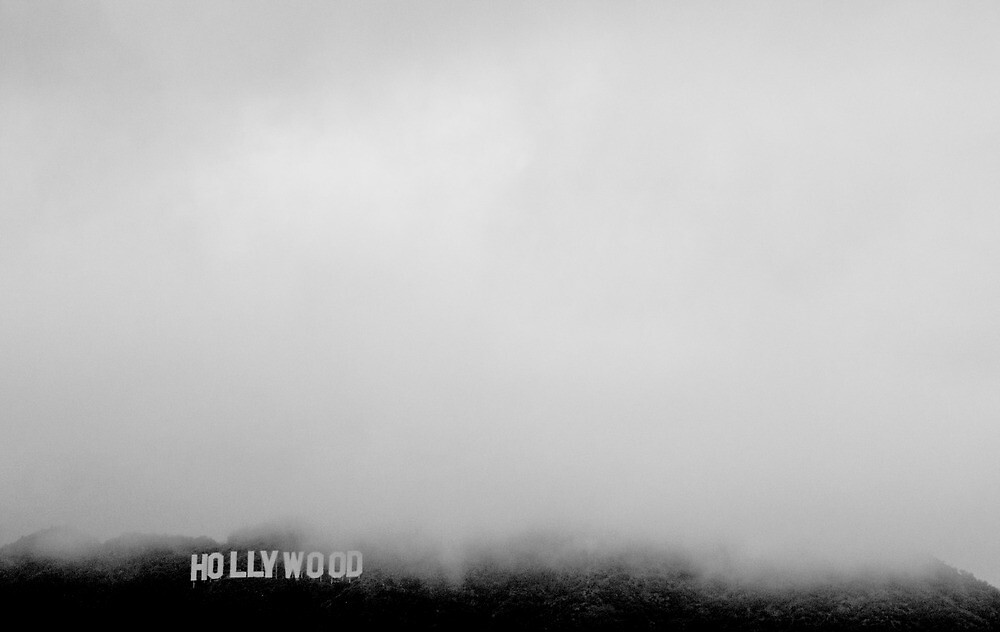 Hollywood Sign in the Mist by yreese