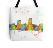 Omaha, Nebraska Skyline Tote Bag