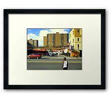Harlem Kid Framed Print