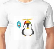 Penguin chopper Unisex T-Shirt