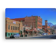 Brick Architecture in Boise, Idaho Canvas Print