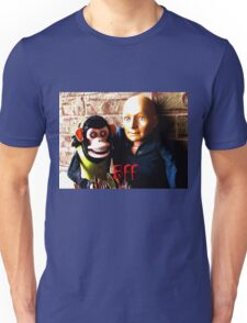 Hugo and Jolly Chimp: BFF Unisex T-Shirt