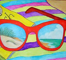 A Day at the Beach by Marsha Free