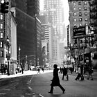 Street Life on Broadway, New York City by danwa