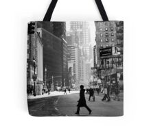 Street Life on Broadway, New York City Tote Bag