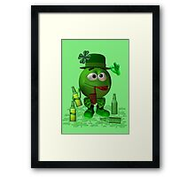 Just a little bit too much to drink Framed Print