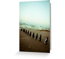 Penguin march Greeting Card