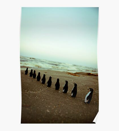 Penguin march Poster